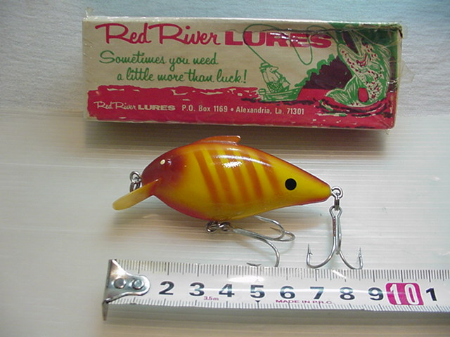 ★RED RIVER LUREs プレグナントグッピー BIG R/BR/22g